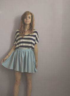 Skater Skirt, Summer Dresses, My Style, Skirts, Fashion, Summer Sundresses, Moda, Sundresses, Skirt