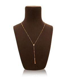 Luxe Uptown Y Necklace | Necklaces | Henri Bendel