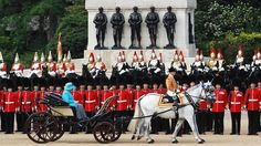 Trooping the Colour.
