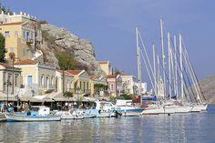 Yachts, #Symi Island, #Greece
