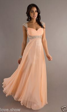 231410b9ca4d2 Long Chiffon Evening Gown Bridesmaid Dresses Prom Dress Formal Party Ball  Gowns