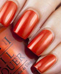 OPI Germany Collection - Deutsche You Want Me Baby (Current favorite nail polish! Perfect for fall)
