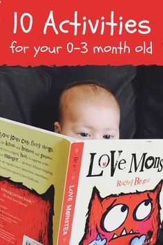 Can you play with your newborn? Of course you can! Here are 10 learning activities for you 0-3 month old baby.