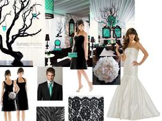 like the black/treelike centerpieces with the candleholders!!