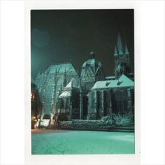 Germany postcard - Aachen, Dom und Katschof im schnee, Cathedral Katschof & snow Listing in the Germany,Topographical,Postcards,Collectables Category on eBid United Kingdom