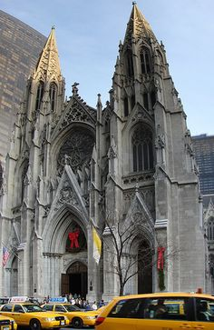 St. Patrick's Cathedral this is where I graduated from High School, June 29, 1960. Cathedral High School