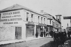 Wonder if 2xGGrandfather William and family bought clothes from this store in Bassett Road