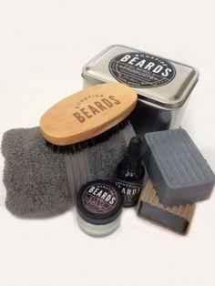 Bonafide Beards – Mechanic Beard Grooming Kit Him