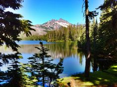 Duffy Lake, Oregon. Best place for backpacking! Can't wait to go back.