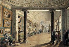Картинная галерея графа А.С. Строганова. 1794 - Воронихин Андрей Никифорович