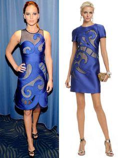 Jennifer Lawrence in a Viktor & Rolf Mad Hatter dress