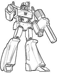 Transformers Coloring Pages Starscream Bonnycmd Starscream