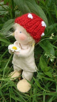 Nestled Under Rainbows: 'Children of the Forest' Doll