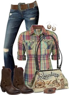 """Country Swag FWF"" by johnna-cameron on Polyvore"