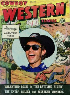 "Valentino #Rossi in ""The battling rider"" Western weekend in #MotoGP - #Austin 2014"