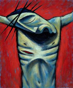 7. Crucifixion The Sarum Cycle - Gallery - Mynheer-art: the fine art site of painter and sculptor Nicholas Mynheer
