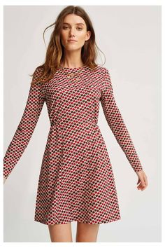 This has to be one of the comfiest dresses we have ever come across and has been a huge hit with the team here at People Tree HQ. The elasticated waist skims your figure and holds its shape all day long. Style yours for the school run over a turtleneck and trainers.