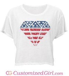 #FourthOfJuly shirts, tanks, crop tops, dresses, and more at Customized Girl! #4thofjuly #july4th