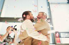 15 Pictures Of Gay Lumberjacks' Beautiful Washington Wedding
