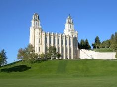 Manti temple, Manti, Utah This was the view from our front door!