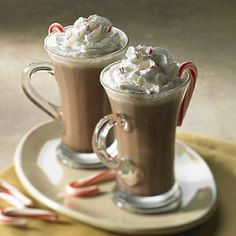 Chocolate and peppermint with a hint of cherry combine for a delectable creamy hot drink made with Land O Lakes® Half & Half.    5 min.  prep time   5 min.  total time  1 serving  5 Stars 1Rating