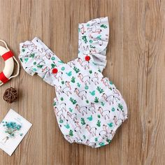 Toddler Infant Kids Baby Girl Easter Top Romper Jumpsuit Bodysuit Clothes Outfit #ebay #Fashion