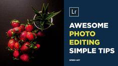 Edit your photo basic settings in Adobe Lightroom cc Speed Art, Edit Your Photos, Lightroom, Photo Editing, Adobe, Make It Yourself, Food, Editing Photos, Photo Manipulation