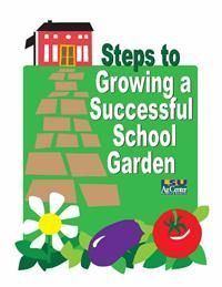 Growing a school garden can be an exciting, but challenging, initiative. School gardens have many benefits. The first and most obvious is that the students learn about agriculture. They learn where their food comes from. Teamwork, social skills, healthy food alternatives, literature, math, science, art and physical education can all be taught in the garden area. (PDF Format Only)