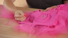 Video: How to Sew a Tutu to a Shirt
