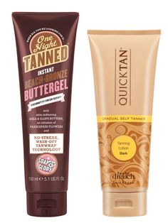 Soap & Glory One Night Tanned and Body Drench Gradual Self Tanning Lotion