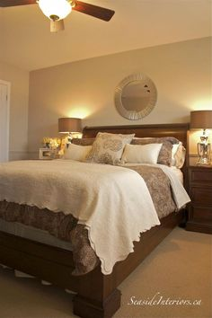 Want to make your household seem like new? Just want to increase the appeal and sale ability of your property? It is easier and less expensive than you may think. Serene Bedroom, Home Bedroom, Bedroom Furniture, Master Bedroom, Bedroom Decor, Bedroom Ideas, Bedroom Inspiration, Rustic Furniture, Master Suite