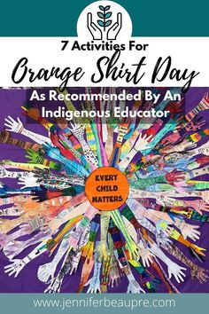 Orange Shirt Day (September 30th) is a day to raise awareness and remember residential school survivors and fatalities. It is also a day to take action towards reconciliation, and honour Indigenous Peoples and their important presence within the world. Orange Shirt Day activities can include: Use Books To Learn About Orange Shirt Day Orange Shirt Day Art Projects Invite Elders Or Knowledge Holders Fundraise The Blanket Exercise Take Action Towards Reconciliation Hold A Talking Circle Classroom Projects, School Art Projects, Art Classroom, Matter Activities, Art Activities, Principal Office Decor, Multicultural Activities, Indigenous Education, Indigenous Peoples Day