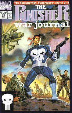 Punisher War Journal # 33 by Tom Palmer