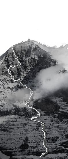 For the first time in history of the Eiger North Face an interactive ascent has been made possible. Experience the most famous north face of the world in a 360° view. EIGER NORDWAND HECKMAIR ROUTE