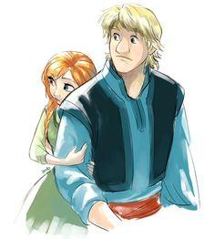 Anna: Kristoff, I'm scared...