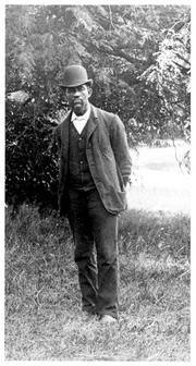 Solomon G. Brown, poet, lecturer, and scientific technician, became the first African American employee at the Smithsonian Institution. At the age of fifteen he began working at the Washington, D.C. post office where he was assigned to assist Joseph Henry and Samuel F.B. Morse in the installation of the first Morse telegraph line in the nation.