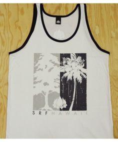 6fbb67c3009af Men s SRF Ringer Tank Top - Tree 2 Tree  Color Options  White-Black.   18.00. Island Snow Hawaii