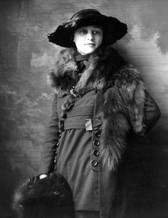 lauramcphee:  Miss Marian Bixler, 1919