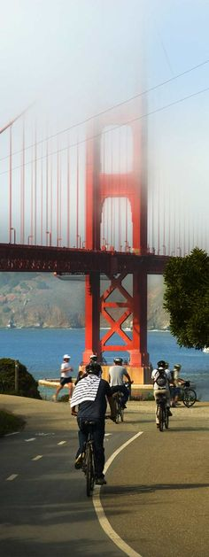 Calling all bicyclists! Ever biked in San Fran?
