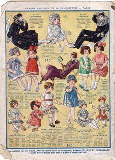 Catalogue des jouets 1927 de la Samaritaine - Le blog de Vieux papiers