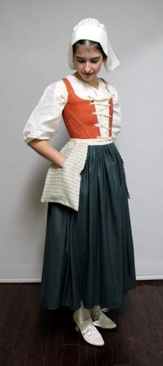 Le costume des Filles du Roy (5e partie) - Quand s'habiller devient une histoire...