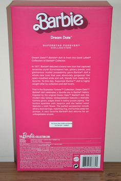 2015 Gold Label Superstar Forever Coll DREAM DATE Barbie W/Shipper - BRAND NEW…