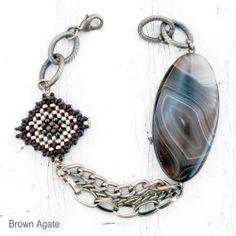 Navajo Stone Beaded Charm Bracelets by TSOul
