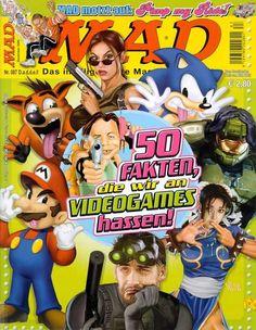 MAD #87 - 50 Fakten, die Wir an Videogames Hassen!