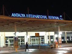 Antalya International Airport (AYT) i Antalya, Antalya