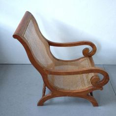 Image of Vintage Plantation Arm Chair