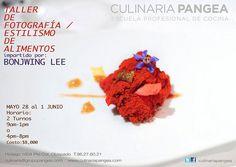 Taller de Fotografía y Estilismo de Alimentos / Culinaria Pangea / Monterrey / 28 Mayo a 1 Junio