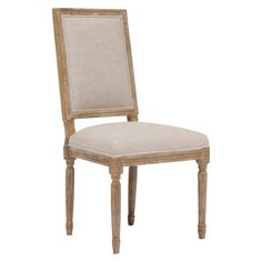 Zuo Cole Valley Dining Chair - Beige (Set of 2)