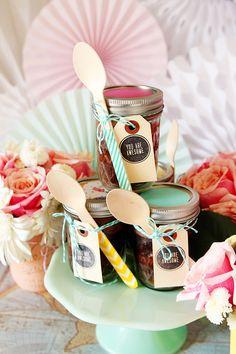 "Foto ""pinnata"" dalla nostra lettrice Anna Draicchio Gift Ideas in a Jar"
