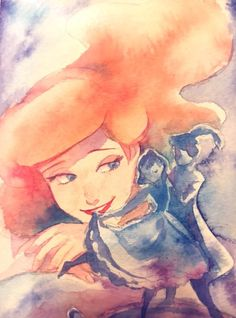 Pixar Drawing The Little Mermaid Disney Pixar, Ariel Disney, Disney Animation, Disney Fan Art, Disney And Dreamworks, Mermaid Disney, Disney Princesses, Disney And More, Disney Love